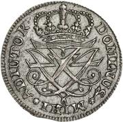 12 Skilling Dansk - Frederik IV (Rendsburg) – avers