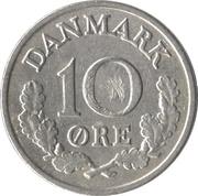 10 øre - Frederik IX -  revers