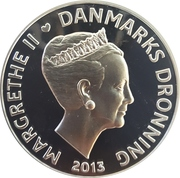 500 Kroner - Margrethe II (Tycho Brahe - Stella Nova) – avers