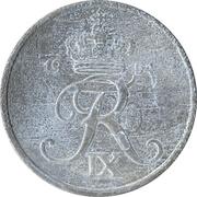 5 øre - Frédéric IX (zinc) -  avers