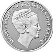 500 kroner - Margrethe II (70ème anniversaire de la reine) – avers
