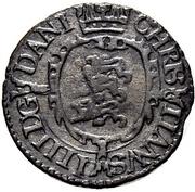 1 søsling - Christian IV – revers