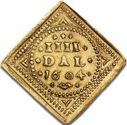 4 Daler - Christian IV – revers