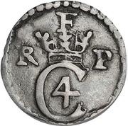 1 Krone Skilling - Christian IV – avers