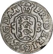 1 Skilling Dansk - Frederik III (type 2) – avers