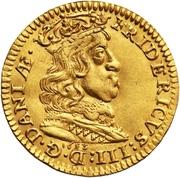 1 Dukat - Frederik III -  avers