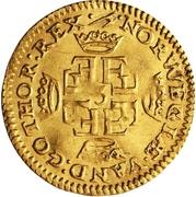 1 Dukat - Frederik III -  revers