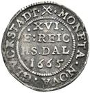 1/16 Thaler - Frederick VI – revers