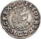 1/16 Thaler - Frederik III (Armored bigger bust) – avers