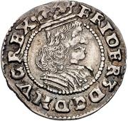 1/16 Thaler - Frederik III (Armored bigger bust) -  avers