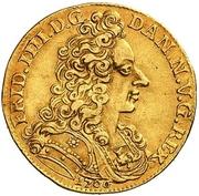 1 Dukat - Fredrik IV – avers