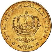 1 Dukat - Fredrik IV – revers