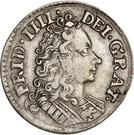 8 Skilling Dansk - Frederik IV (Type II) – avers