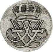 1 Skilling Dansk - Frederik IV – avers