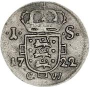 1 Skilling Dansk - Frederik IV – revers