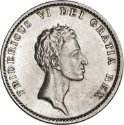 1 rigsbankdaler - Frederik VI – avers