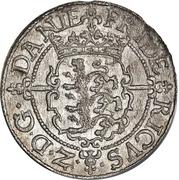 1 Skilling Dansk - Frederik II – avers