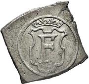 1 Mark - Frederik II (Seven-Years War coinage) – avers