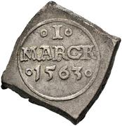 1 Mark - Frederik II (Seven-Years War coinage) – revers