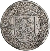 2 Skilling - Christian III (Atelier de Copenhague) – avers