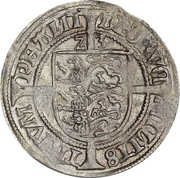 Lejrskilling / 10 Hvid - Frederik I (Roskilde mint) – revers