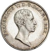 1 speciedaler - Frederik VI – avers