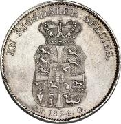 1 speciedaler - Frederik VI – revers