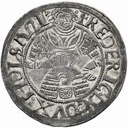 2 Schilling - Frederik I (Gottorp mint) – avers
