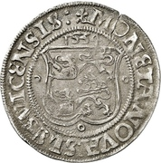 2 Schilling - Christian III (Gottorp mint) – revers
