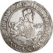 ½  Sølvgylden - Christian III (Flensborg Mint) – avers