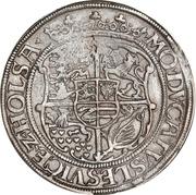 ½  Sølvgylden - Christian III (Flensborg Mint) – revers