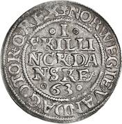 12 Skilling Dansk - Frederik IV (Rendsburg) – revers
