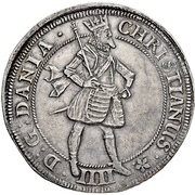 2 Krone - Christian IV (with star in legend) – avers