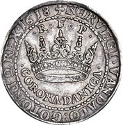 2 Krone - Christian IV (with star in legend) – revers