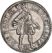 2 Krone - Christian IV (without star in legend) – avers