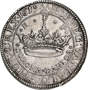2 Krone - Christian IV (without star in legend) – revers