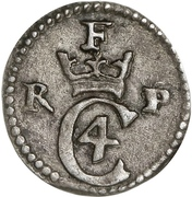 1 Skilling - Christian IV – avers