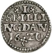 1 Skilling - Christian IV – revers