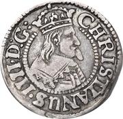 1/16 Reichs Thaler - Christian IV (type I) -  avers