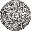 1/16 Reichs Thaler - Christian IV (type I) – revers