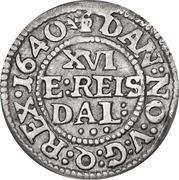 1/16 Reichs Thaler - Christian IV (type I) -  revers