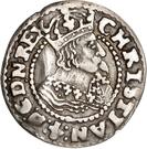 3 Skilling Lybsk (Glückstadt)- Christian IV – avers