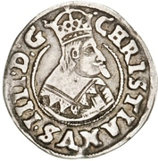 1/16 Daler - Christian IV – avers