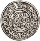 1/16 Daler - Christian IV – revers
