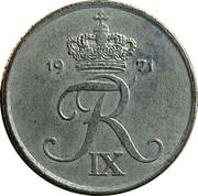 1 øre - Frédéric IX -  avers