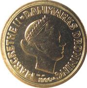 10 kroner - Margrethe II (2eme effigie) -  avers