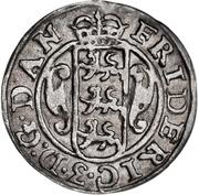 2 Skilling Dansk - Frederik III (Shield type V) – avers