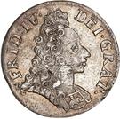 8 Skilling Dansk - Frederik IV (Type I) – avers