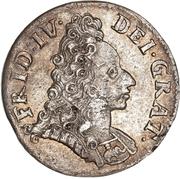 8 Skilling Dansk - Frederik IV (Type I) -  avers