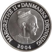 200 kroner - Margrethe II (4eme effigie;mariage du prince) – avers